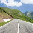Transfagarasan road in Romania — Foto de stock #2210821