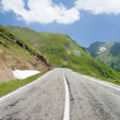 Transfagarasan road in Romania - Stock Photo