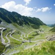 Transfagarasan road in Romania — 图库照片