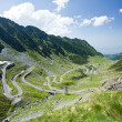 Transfagarasan road in Romania — Stock fotografie