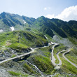Transfagarasan road in Romania - Photo