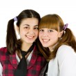 Schoolgirls — Stock Photo