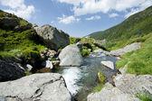 Montañas en rumania — Foto de Stock