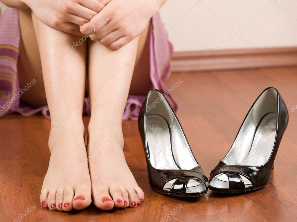 女人的脚和鞋