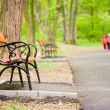 Benches in park — Stock Photo #2243881