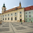 Sibiu, a beautiful town in Romania — Stock fotografie