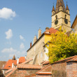 Stock Photo: Reformed church in Romania