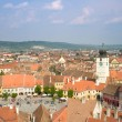 Sibiu, a beautiful town in Romania — Stock Photo