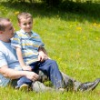 Father and son having good time together — Stock Photo #2245138