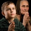 Stockfoto: Praying