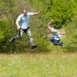 Father and son having good time together — 图库照片 #2245816
