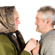 Elderly couple — Stock Photo