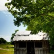 Shelter on a hill — Stock Photo