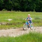 Boy with bike — Stock Photo #2246416