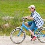Boy with bike — Stock Photo #2246423