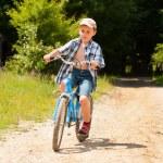 Boy with bike — Stock Photo #2246430