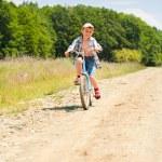 Boy with bike — Stock Photo #2246432