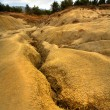 Muddy volcanoes from Romania — Stock Photo