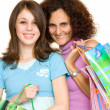 Women shopping — Stock Photo #2249969