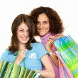 donne lo shopping — Foto Stock #2249974