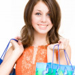 Woman shopping — Foto de stock #2249981