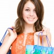 Stockfoto: Woman shopping