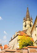 Reformed church in Romania — Stock Photo