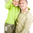 Father and son playing — Stock Photo #2250425