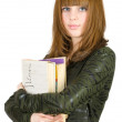 Girl with books — Stock Photo #2251129