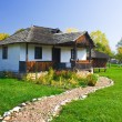 Old house in Romania - Stock Photo