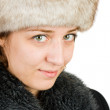 Young russian woman — Stock Photo