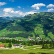 paisagem do Tirol — Foto Stock