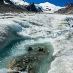 Grossglockner glacier — Stock Photo