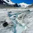 Royalty-Free Stock Photo: Grossglockner glacier
