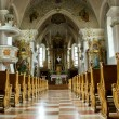 Inside of a church - Foto Stock