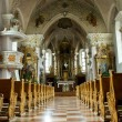 Inside of a church — Stockfoto