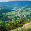 Small town in Romania - Foto Stock