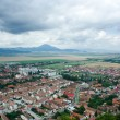 Stock Photo: Small town in Romania