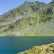 Balea Lake, Romania — Stock Photo