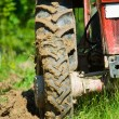 tractor plowing — Stock Photo #2255234