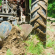 tractor plowing — Stock Photo #2255299