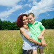 mother and son — Stock Photo #2255632