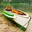 Foto Stock: Boat on shore