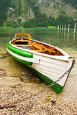 Boat on a shore — Stock fotografie