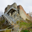Ruins of Dracula's fortress - Foto de Stock