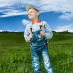 Little farmer — Stock Photo #2275145