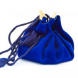 Blue sack isolated - Stock Photo