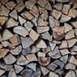 Royalty-Free Stock Photo: Stack of logs