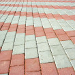 Pavement with pattern - Stock Photo