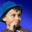 Cute kid thinking — Stock Photo #2277207